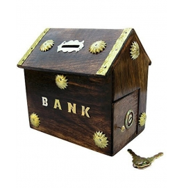 Desi Karigar Hut Shaped Beautiful Piggy Bank
