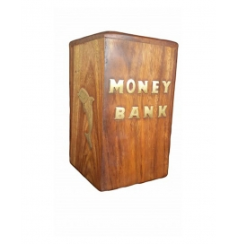 Desi Karigar Beautiful Brown Money Bank