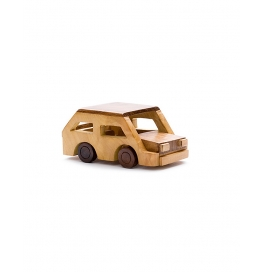 Desi Karigar Beautiful Wooden Classical Vintage Car Toy Showpiece