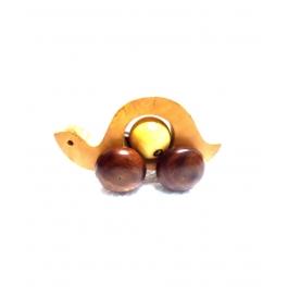Desi Karigar Wooden Tortoise Toy