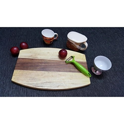 Desi Karigarsheesam & Pine Wood Best Quality Kitchen Chopping Board Size(lxbxh-15x10x1) Inch