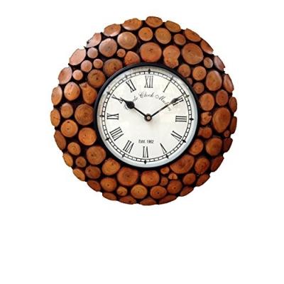Desi Karigar Wooden Antique Wall Clock