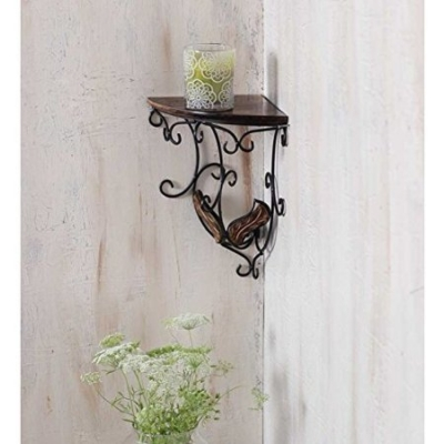 Desi Karigar Beautiful Wooden Decorative Corner Wall Hanging Bracket Shelf/selves For Living Room/bed Room Decoration