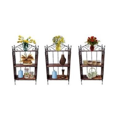 Desi Karigar Home Decor 3 Shelf Rack Combo Pack Of 3