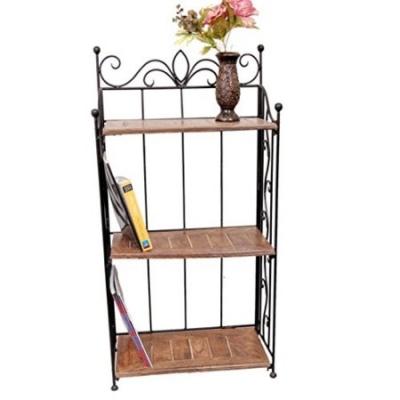 Desi Karigar Home Decor 3 Shelf Rack/book Shelf Big Size(lxbxh-21x10x41) Inch