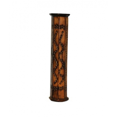 Desi Karigar Incense Box Sticks Holder Agarbati Agarbatti Dhoop Doop Stand Loban Wood Tower