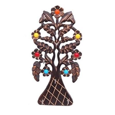 Desi Karigar Wooden Antique Key Holder Size(lxbxh-15x2x30) Cm