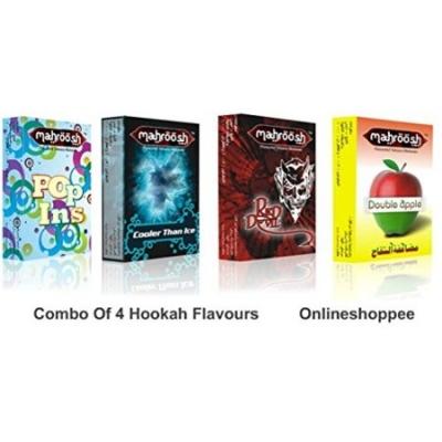 Desi Karigar Combo Pack Of 4 Hookah Flavours