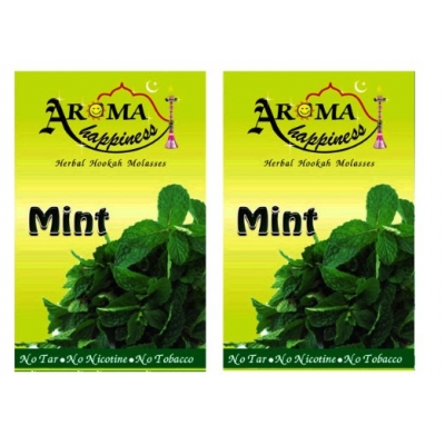 Desi Karigar Aroma Happiness Hookah Flavor - Pack Of 2 (mint - 50 G, Mint - 50 G)