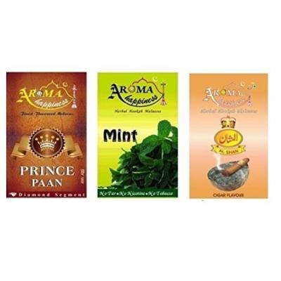 Desi Karigar Aroma Happiness Assorted Hookah Flavor - Pack Of 3
