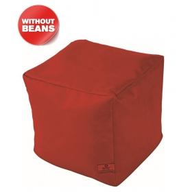 Puffy Bean Bag Cover-maroon