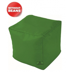 Puffy Bean Bag Cover-bottle Green