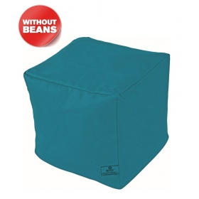 Puffy Bean Bag Cover-turqoise