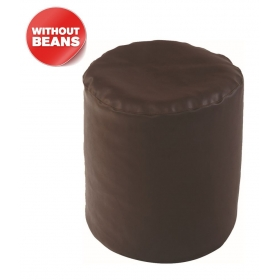 Puffy Bean Bag Cover-brown