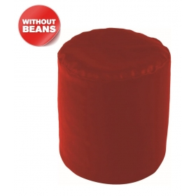 Puffy Bean Bag Cover-red