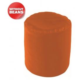 Puffy Bean Bag Cover-orange