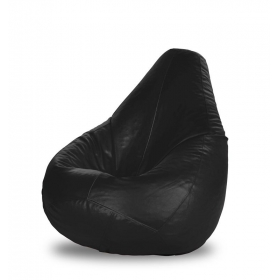 Black Bean Bag Cover Xl (without Beans)