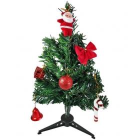 Plastic Christmas Tree Multicolour - Pack Of 1