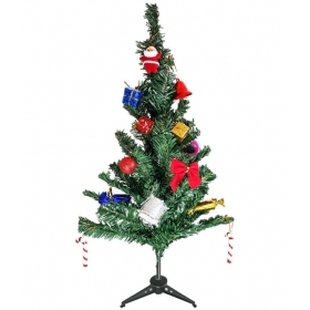 Dus10 Plastic Christmas Tree Multicolour - Pack Of 1