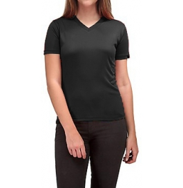 Women T-shirt 100% Cotton Black
