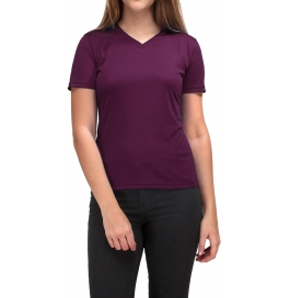 Women T-shirt 100% Cotton Purple