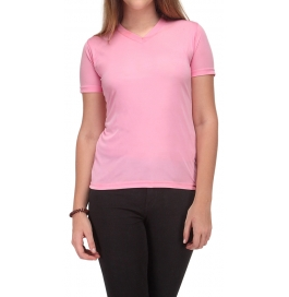 Women T-shirt 100% Cotton Pink