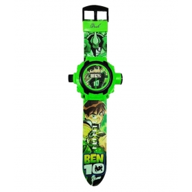 Green Silicon Ben10 Watch