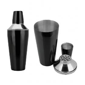 Black Cocktail Shaker - 750 Ml