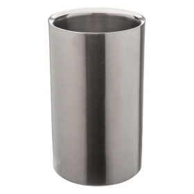 Silver Stainless Steel Wine Cooler