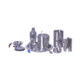 Stainless Steel 17 Piece Bar Set