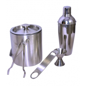 Stainless Steel Premium Bar Set Of 5 Piece