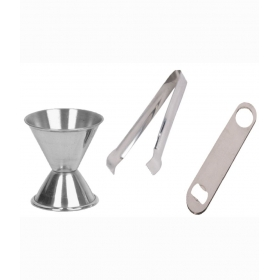 Stainless Steel Peg Measure - 30 Ml And 60 Ml Bar Sets