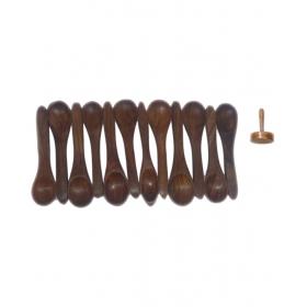 Desi Karigar Wooden Spoons Set Of 12 + 1 Masher