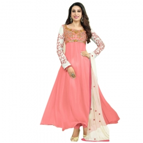 Light Pink Color Designer Embroidery Suit