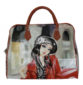Baghubs Printed Beby Hand Bag (shoulder/hand Bag)