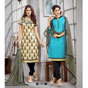 D No  &8211, 3005 &8211, Double Top Daily / Office Wear Unstitched Salwar Suit
