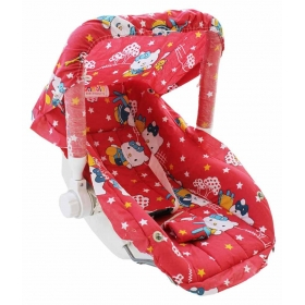 Red Mummee Carry Cot - 6 In 1