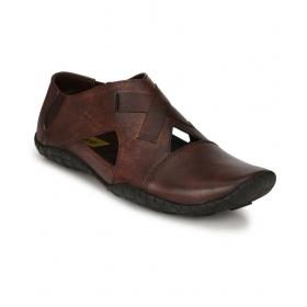 El Paso 9001bleather_001 Brown Sandals