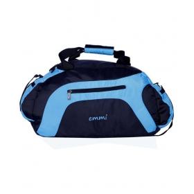 Emmi Bags Sky Blue Solid Duffle Bag