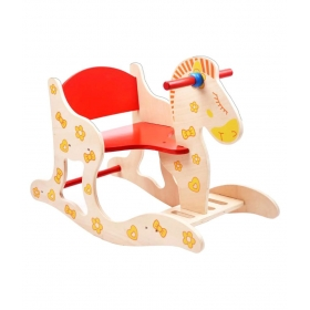 Eco-friendly Baby Rocking Horse Assembly Ride On Toy