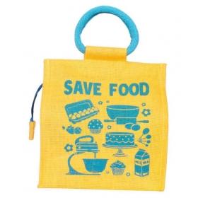 Empower Jute Lunch Bag