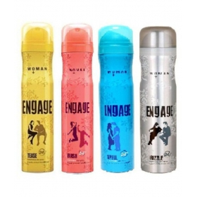 Engage Woman Body Deodrant Blush,tease,spell Drizzle