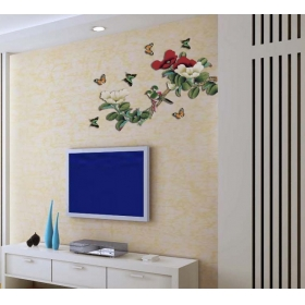 Ay938 Design Tree Nature Wall Sticker  Jaamso Royals