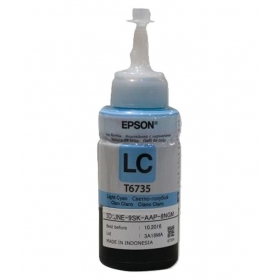 T6735 Light Cyan Ink Container (70ml) For Epson L800 Printers