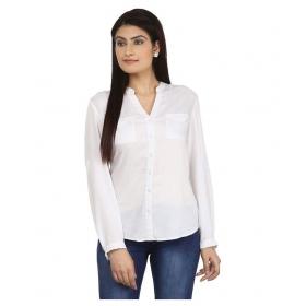 Porter White Viscose Shirts