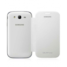 Flip Cover For Samsung Galaxy Grand I9082 - White