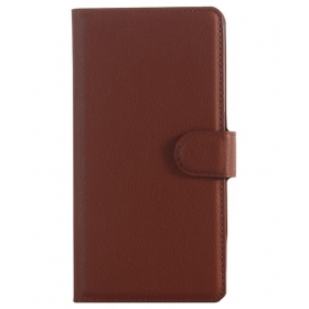 Excelsior Wallet Case Flip Cover For Sony Xperia Z5 - Brown