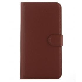 Wallet Case For Asus Zenfone Selfie Zd551kl - Brown