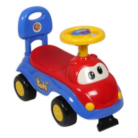 Playmates Cute Car Kids Ride-on Red/blue
