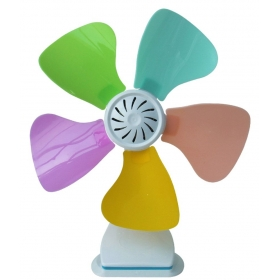 Ezyhome 3.4 Inches Jfc11-26b Table Fan - Multicolour